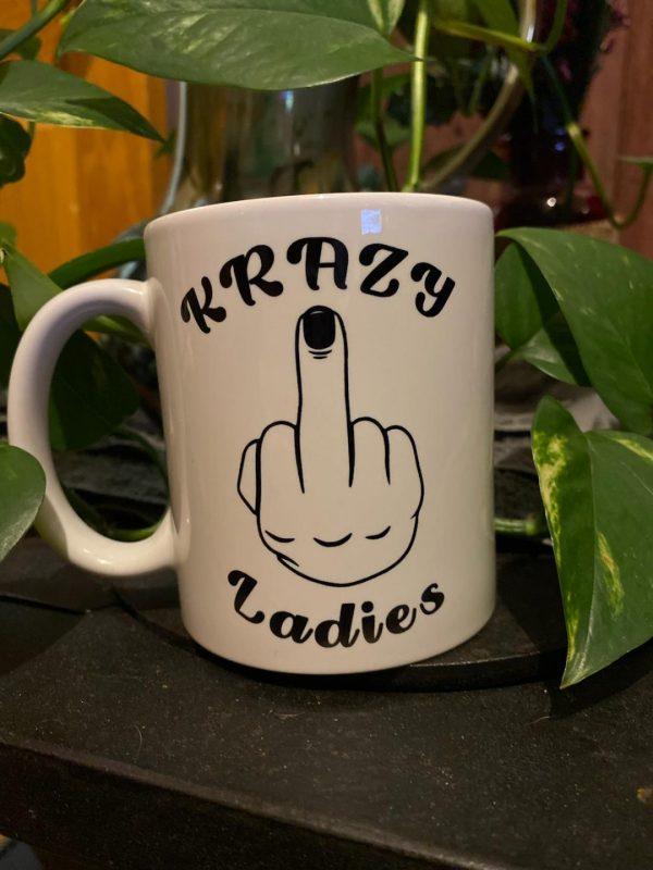 Krazy Ladies Coffee Mug