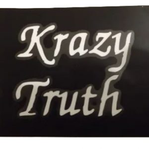 Krazy Truth Window Sticker 3x5