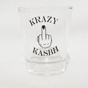 Krazy Kasbh Black T-Shirt
