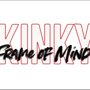 "Kinky Frame of Mind 5"" x 7"" Window Sticker"
