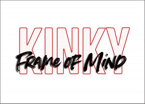 """Kinky Frame of Mind 5"""" x 7"""" Window Sticker"""