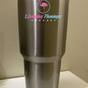 The Swinging Flamingos Podcast 20 oz Tumbler