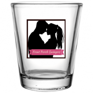Front Porch Swingers Shot Glass 1.75 oz