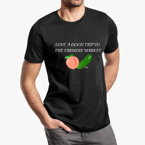 Farmers Market Black Unisex T-Shirt