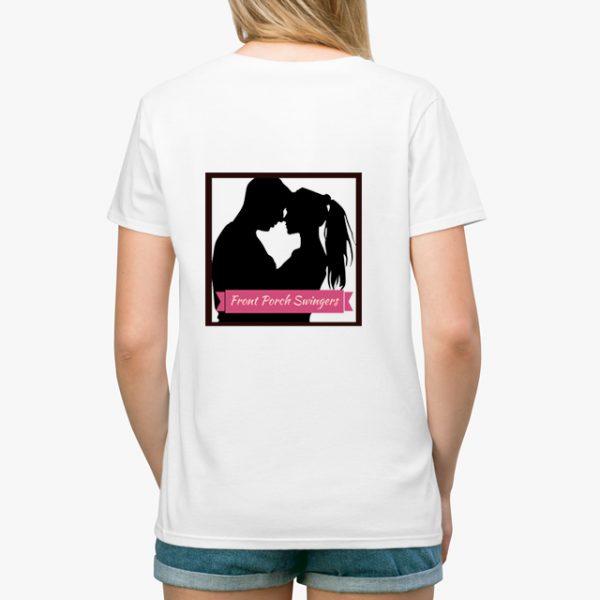 Front Porch Swingers White Unisex T-Shirt