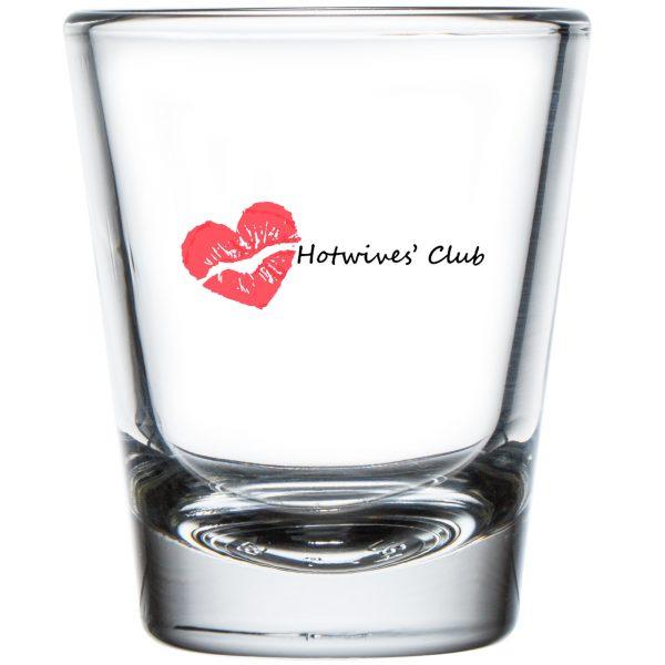 Hot Wives' Club Shot Glass 1.75 oz