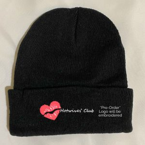 Hot Wives' Club Black Beanie