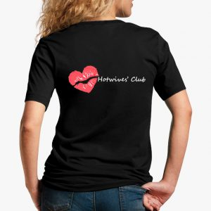 Hot Wives' Club Black Unisex T-Shirt