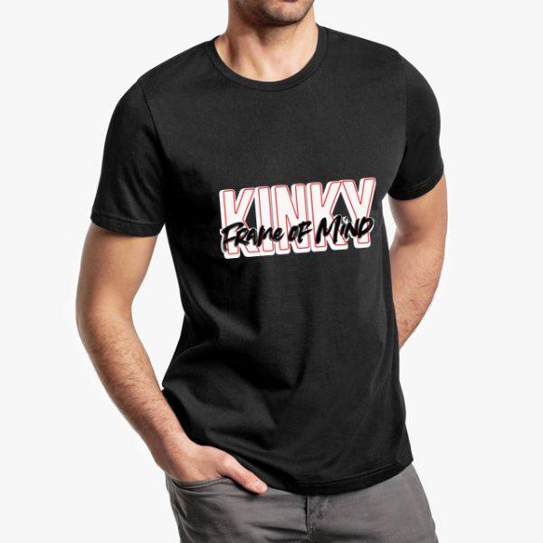 Kinky Frame of Mind Black Unisex T-Shirt