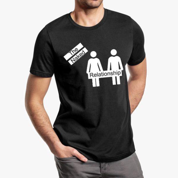 The Naked Relationship Black T-Shirt