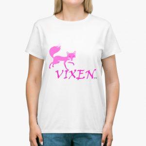 Vixen White Unisex T-Shirt