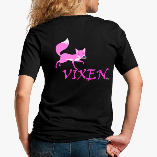 Vixen Black Unisex T-Shirt