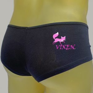 Vixen Black Booty Shorts