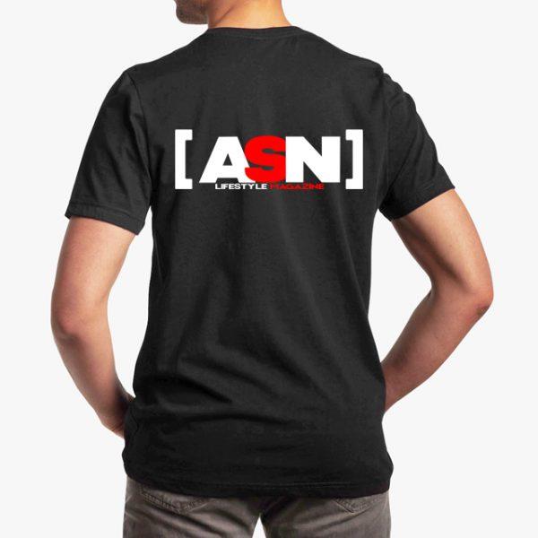 ASN Lifestyle Magazine Black Unisex T-Shirt