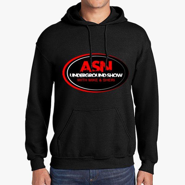 ASN Lifestyle Magazineunderground show black hoodie front middle