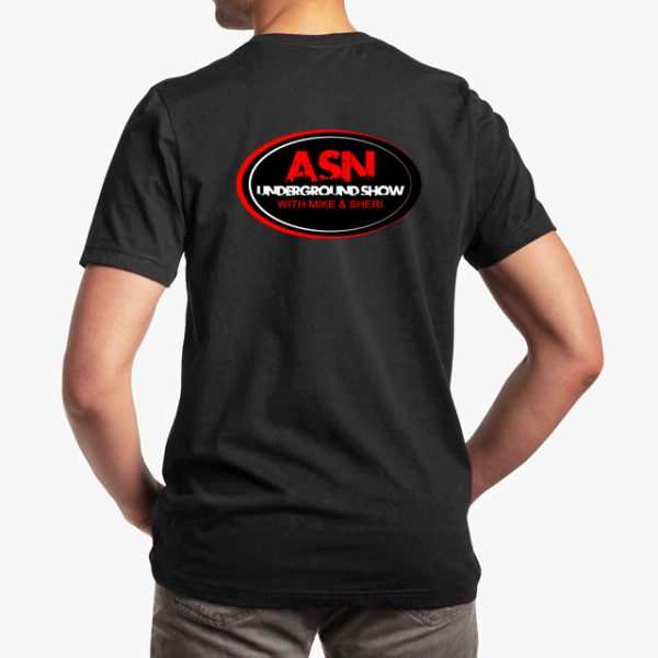 ASN Lifestyle Magazine Black Unisex T-Shirt