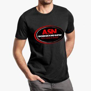 ASN Lifestyle Magazine underground show black unisex tshirt