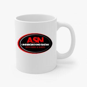 ASN Lifestyle Magazine underground show coffee cup
