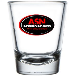 ASN Lifestyle Magazine underground show shot glass
