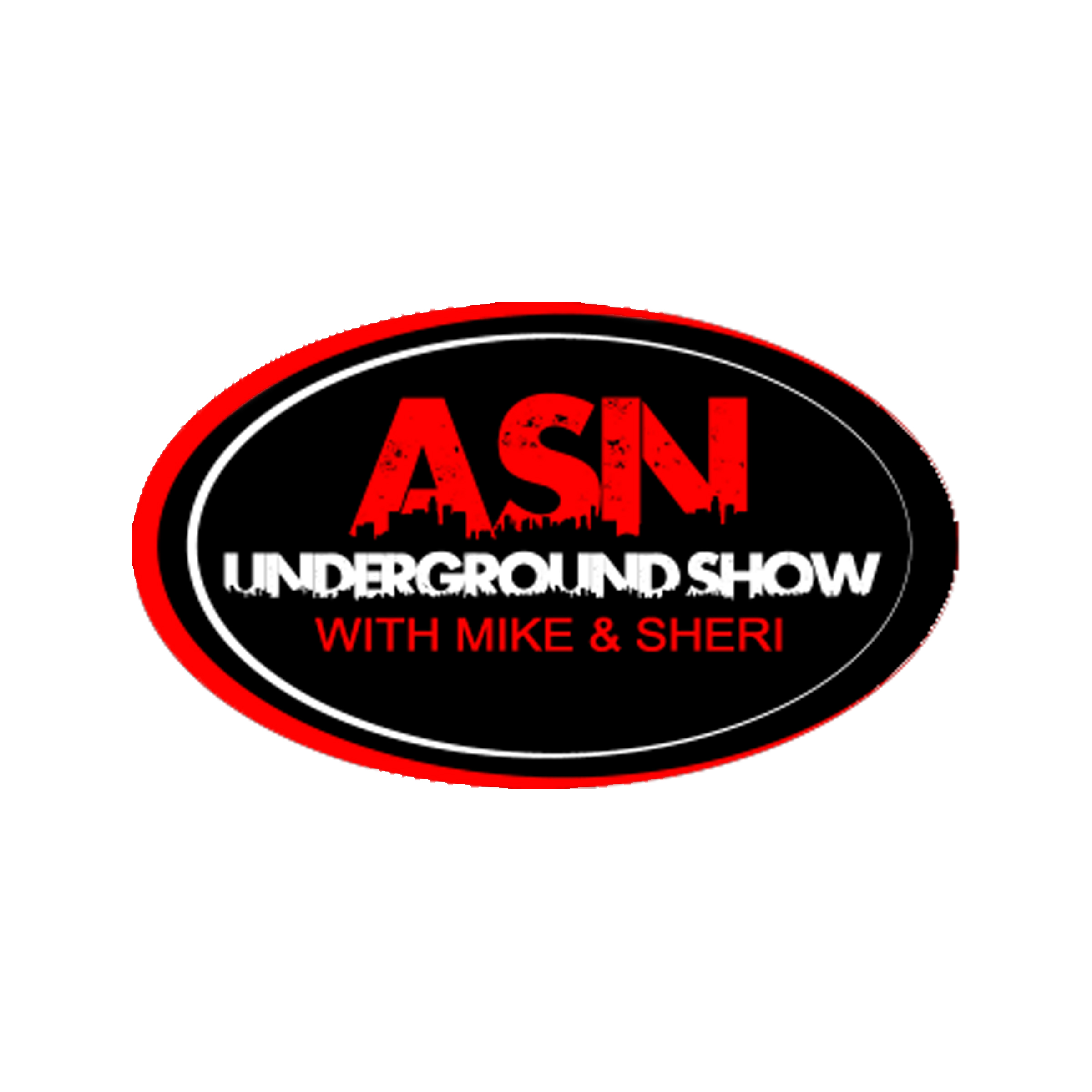 ASN Lifestyle Magazine underground show stickers 8x8