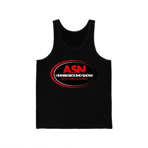 ASN Lifestyle Magazine underground show black unisex jersey tank