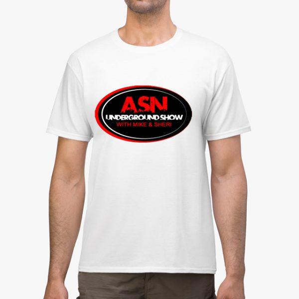 ASN Lifestyle Magazine underground show white unisex tshirt man example