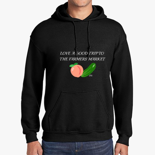 Farmers Market black hoodie front