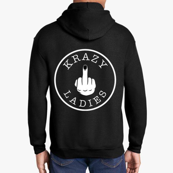 Krazy Ladies black hoodie