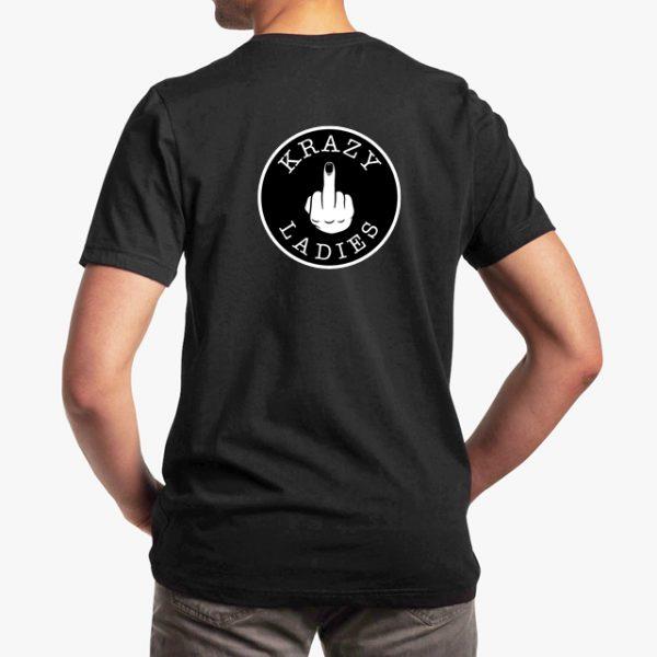 Krazy Kasbh White Unisex T-Shirt