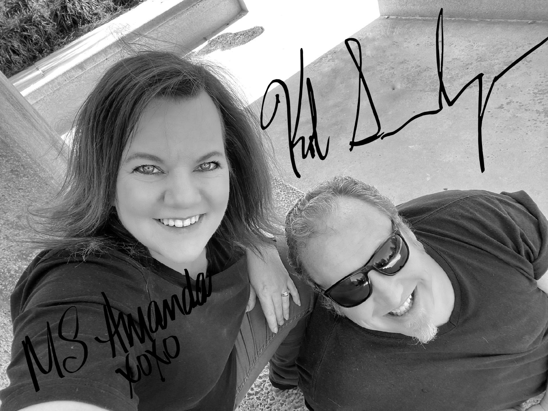 Kole & Amanda Signed 8x10 Photos