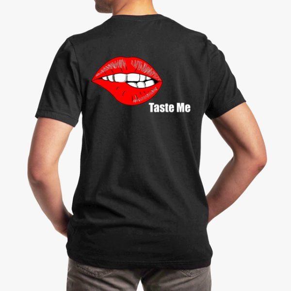 In Bed With Nikky Taste Me Black Unisex T-Shirt