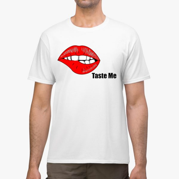 In Bed With Nikky Taste Me White Unisex T-Shirt