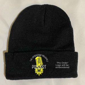 The Upsidedown Pineapple Podcast Black Beanie