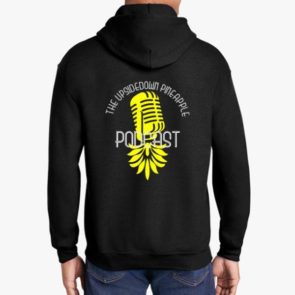 The Upsidedown Pineapple Podcast Black Hoodie
