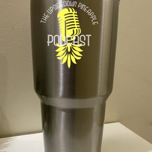 The Upsidedown Pineapple Podcast Tumbler