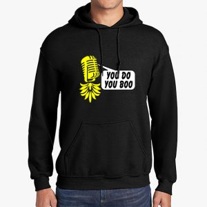 The Upsidedown Pineapple You Do You Boo Black Hoodie