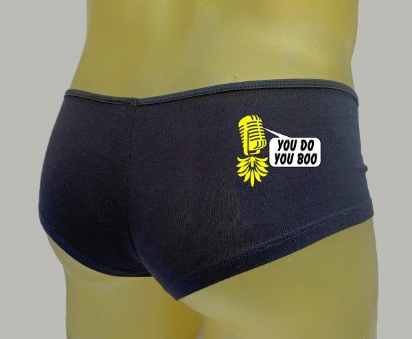 The Upsidedown Pineapple You Do You Boo Booty Shorts