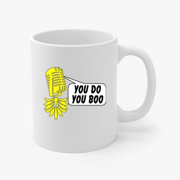 The Upsidedown Pineapple You Do You Boo Coffee Cup