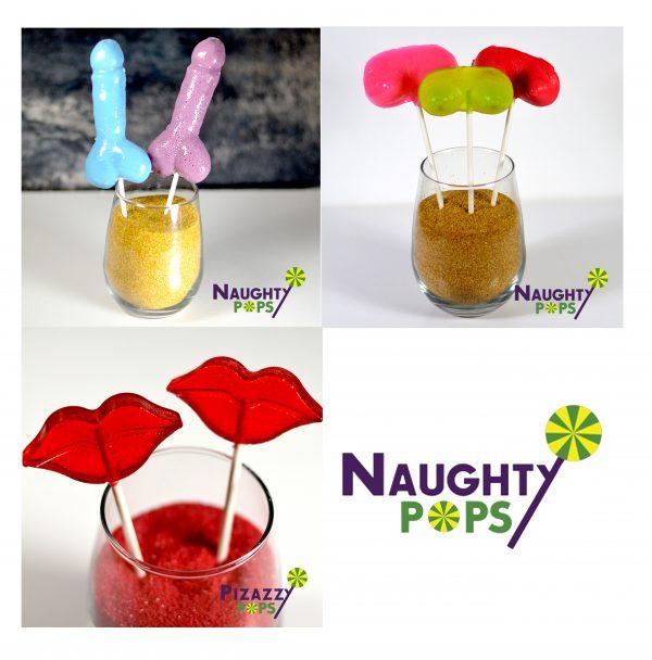 FullSwapShop Naughty Pops - Lollipops