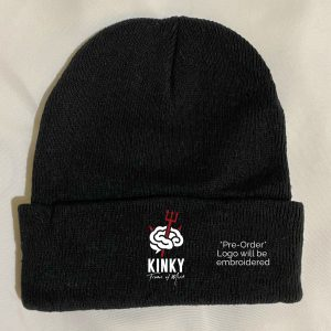 Kinky Frame of Mind Devilish Black Beanie