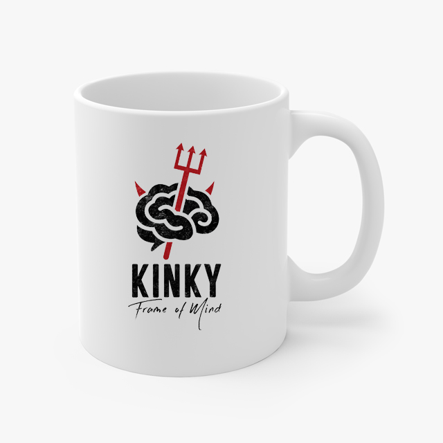 Kinky Frame of Mind Devilish Coffee Cup