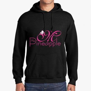 Mrs Pineapple Black Hoodie