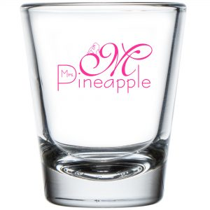 Mrs Pineapple Shot Glass