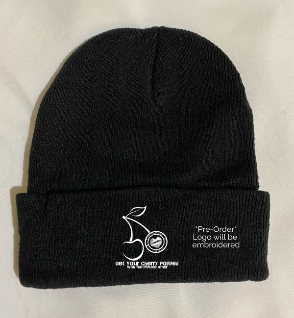 Get Your Cherry Popped with The Private Affair Black Beanie