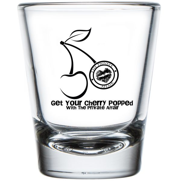 Get Your Cherry Popped with The Private Affair Shot Glass