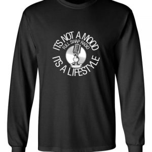 FullSwapRadio black front long sleeve t-shirt