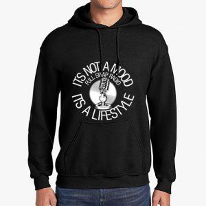 FullSwapRadio black hoodie front