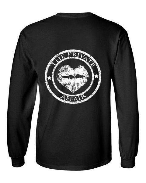The Private Affair Black Long Sleeve T-Shirt
