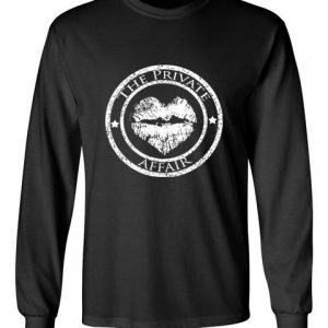 The Private Affair Black Long Sleeve T-Shirt