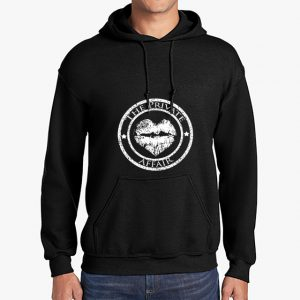The Private Affair Black Unisex Hoodie
